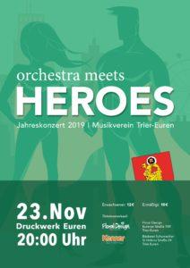 Jahreskonzert Musikverein Trier-Euren - Am 23. November im Druckwerk Trier-Euren